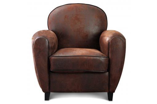 fauteuil club choco vintage pas cher achat canap ou fauteuil club. Black Bedroom Furniture Sets. Home Design Ideas