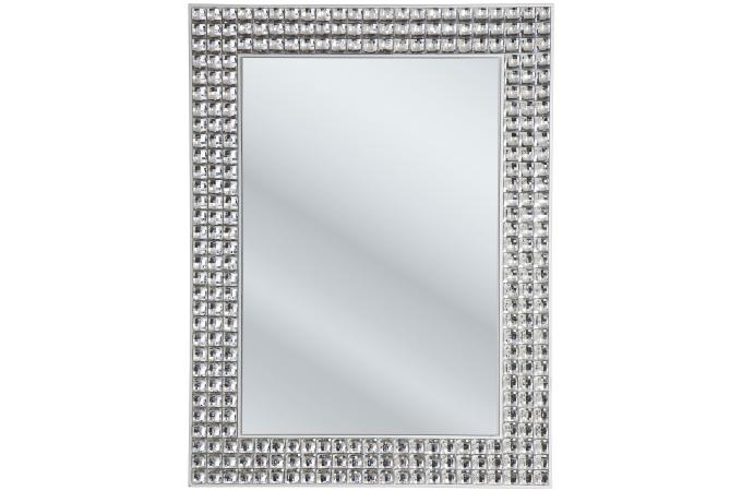 Miroir d co en strass achat miroir design pas cher for Miroir baroque pas cher