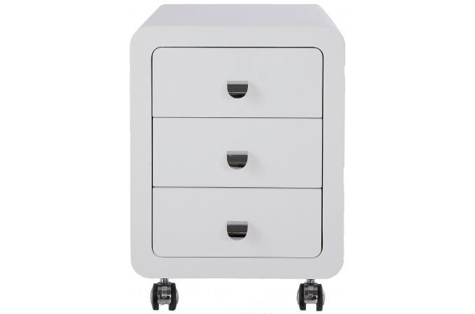 caisson roulette mathieu 3 tiroirs accessoire caisson bureau pas cher. Black Bedroom Furniture Sets. Home Design Ideas