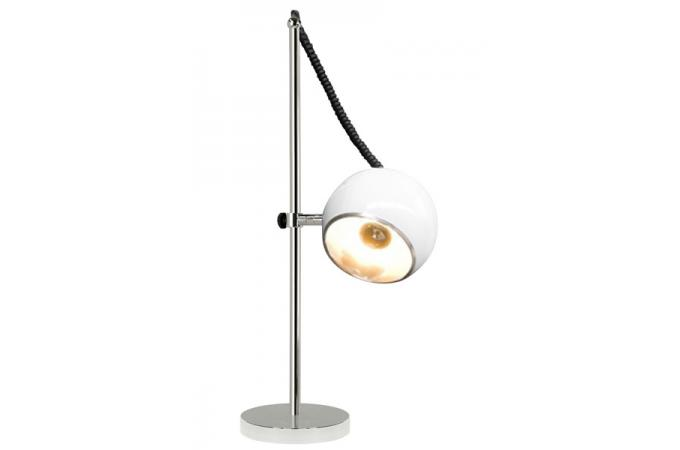 Lampe poser boule blanche lampe poser pas cher for Lampe a poser blanche