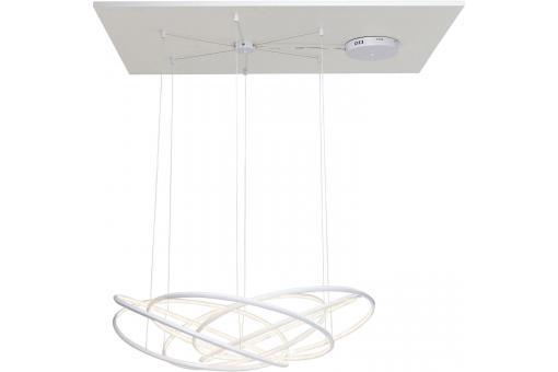 lustre blanc led calvi lustre pas cher. Black Bedroom Furniture Sets. Home Design Ideas