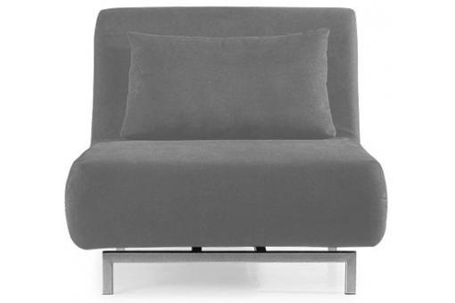 fauteuil convertible 1 place rodrigue gris fauteuil. Black Bedroom Furniture Sets. Home Design Ideas