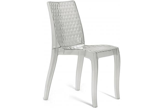 chaise design transparente delphes chaise design pas cher. Black Bedroom Furniture Sets. Home Design Ideas