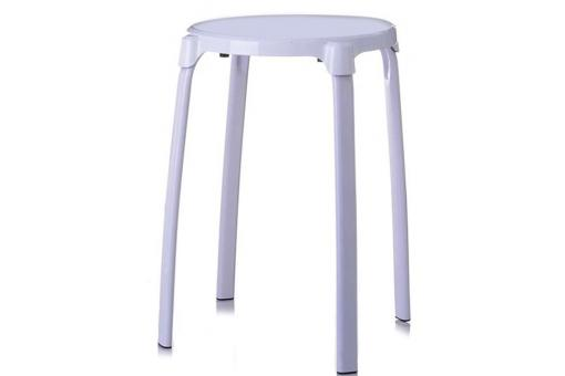 tabouret blanc jamie petit tabouret pas cher. Black Bedroom Furniture Sets. Home Design Ideas
