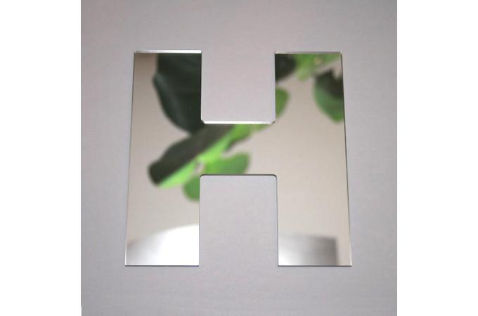 Miroir h argent en verre teri h 8 cm miroir rond et for Miroir argente pas cher