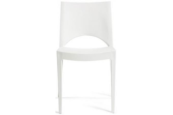 Chaise design blanche venise chaise design pas cher - Chaise design pas cher blanche ...