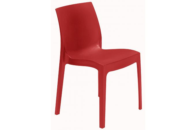 Chaise design rouge istanbul chaise design pas cher for Chaise design rouge