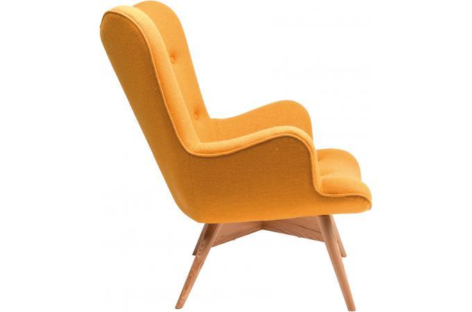 fauteuil jaune en laine mathilde fauteuil design pas cher. Black Bedroom Furniture Sets. Home Design Ideas