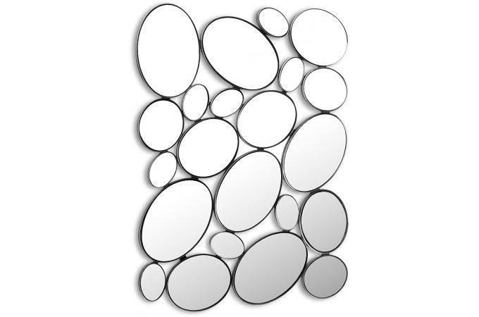 Miroir mural gouttes miroir rond et ovale pas cher - Miroir mural pas cher ...