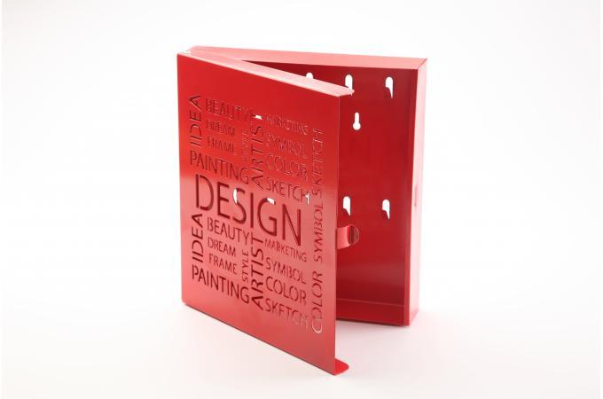 bo te cl s design rouge bo te de rangement pas cher. Black Bedroom Furniture Sets. Home Design Ideas