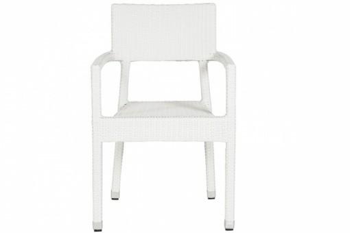Chaise blanche en osier doriane chaises design pas cher - Chaise en osier pas cher ...