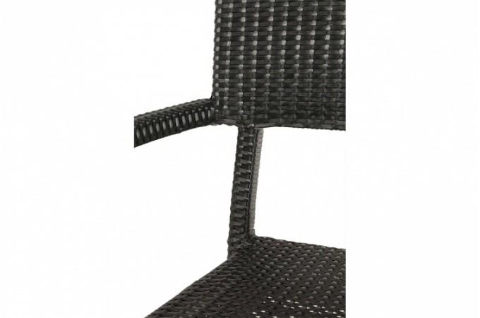 Chaise noire en osier doriane chaises design pas cher - Chaise en osier pas cher ...