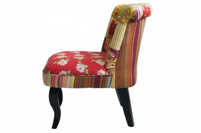 Fauteuil crapaud patchwork fauteuils design pas cher - Fauteuille crapaud pas cher ...