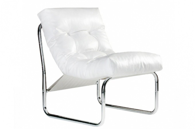 Fauteuil design capitonn blanc psy fauteuils design pas cher - Fauteuil blanc pas cher ...