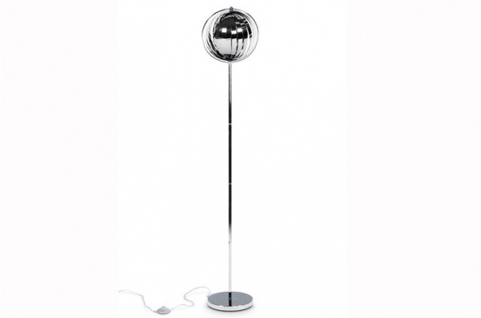 lampadaire design chrome meteor lampadaires pas cher. Black Bedroom Furniture Sets. Home Design Ideas