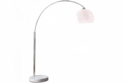 Lampe arc blanche xl lampadaire arc style retro - Lampadaire arc blanc ...