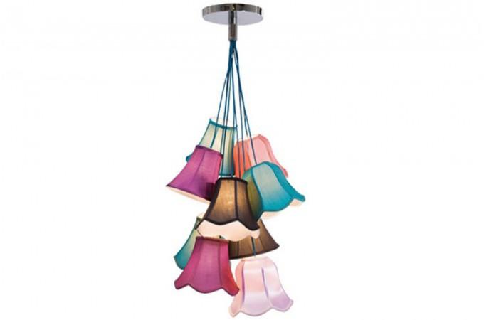 lustre multicolore saloon lustres suspensions pas cher. Black Bedroom Furniture Sets. Home Design Ideas