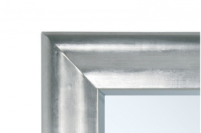 Grand miroir vertical argent prima 90 x 200 cm declikdeco for Grand miroir rectangulaire design