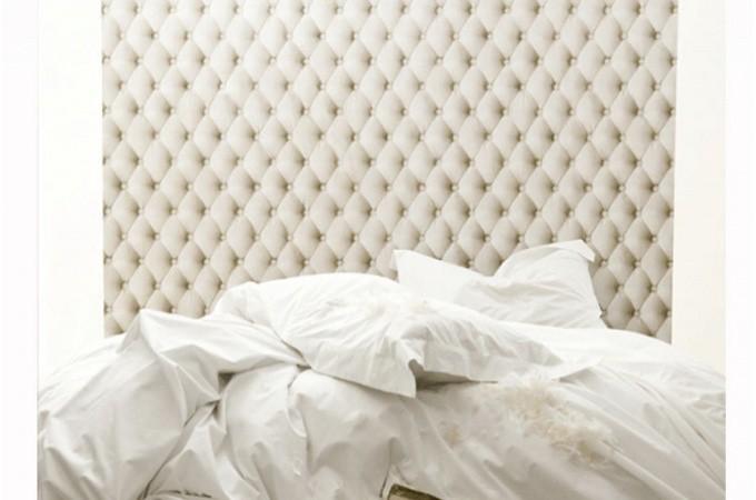 papier peint capitonn lin ficelle papier peint trompe l 39 oeil capitonn declikdeco. Black Bedroom Furniture Sets. Home Design Ideas