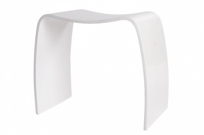 tabouret design blanc en bois pas cher. Black Bedroom Furniture Sets. Home Design Ideas