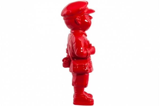 Statue rouge gavroche statues d co pas cher declik deco for Objet deco rouge cuisine