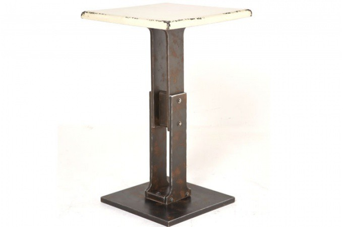 Table de bar style industriel achat mobilier industriel for Table style industriel