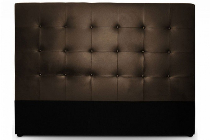 tete de lit chocolat. Black Bedroom Furniture Sets. Home Design Ideas