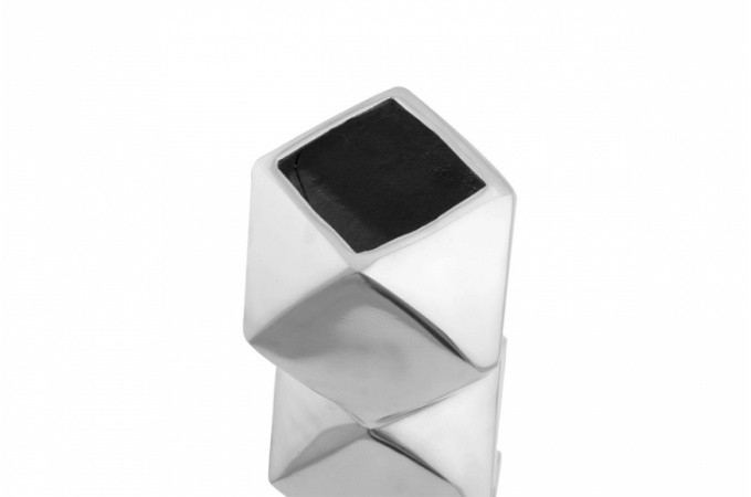 vase en argent pieds torsad isaure vases et vides poches pas cher. Black Bedroom Furniture Sets. Home Design Ideas