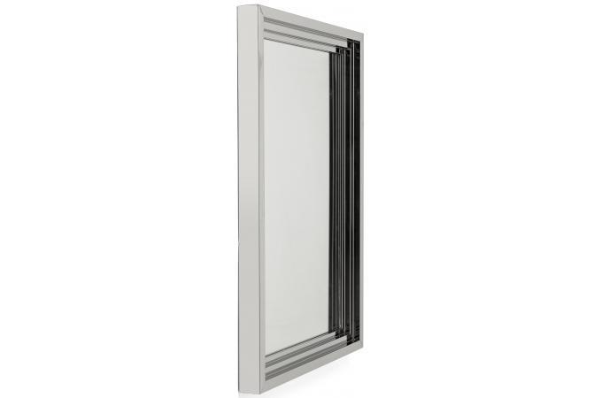 Miroir steel step argent 105x75cm kare design miroir - Miroir argente pas cher ...