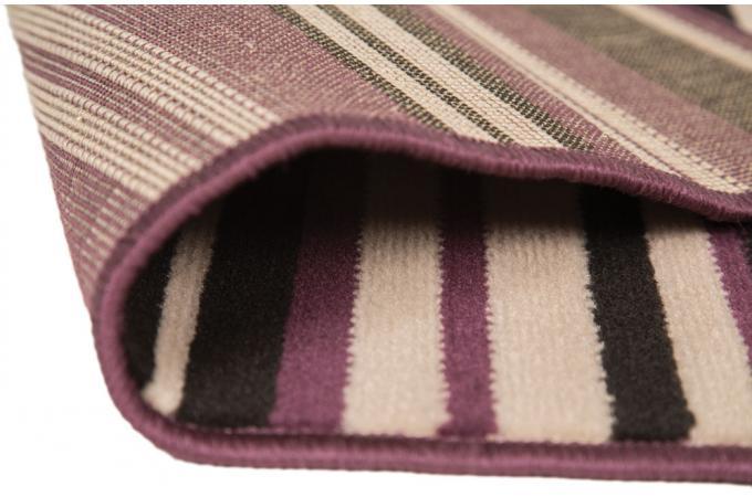 Tapis 100 polypropylene maidstone 60x220 violet et noir - Tapis noir et violet ...