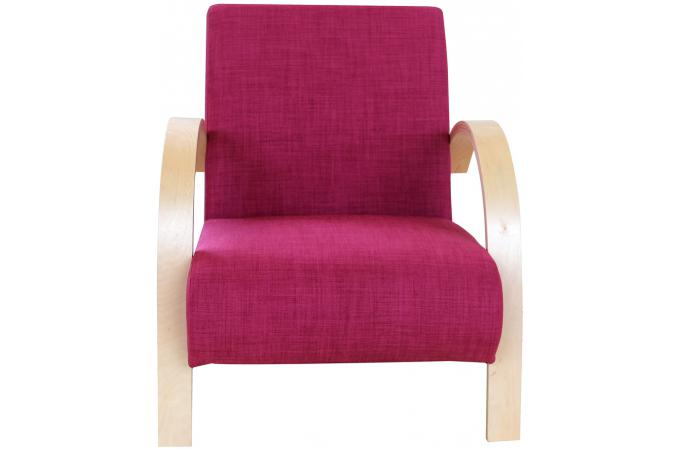 Fauteuil contemporain fuschia fauteuil design pas cher - Fauteuil contemporain pas cher ...