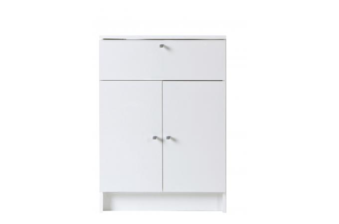 Petite armoire de salle de bain blanche meuble salle de for Armoire de salle bain